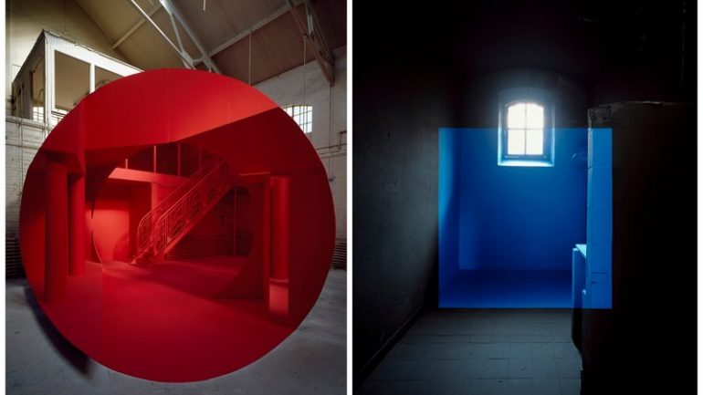 Georges Rousse montage