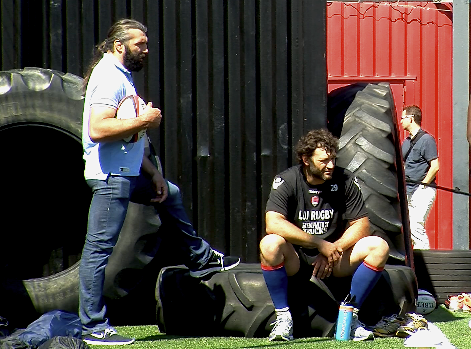 Chabal et Nallet Lou Rugby