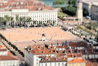 Vu de la place Bellecour