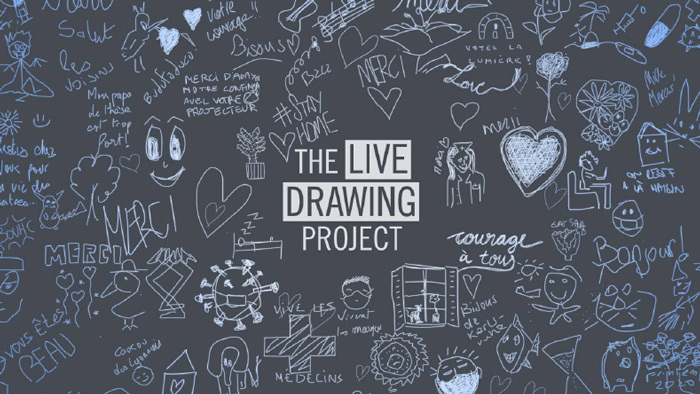 Crédit photo : The Live Drawing Project